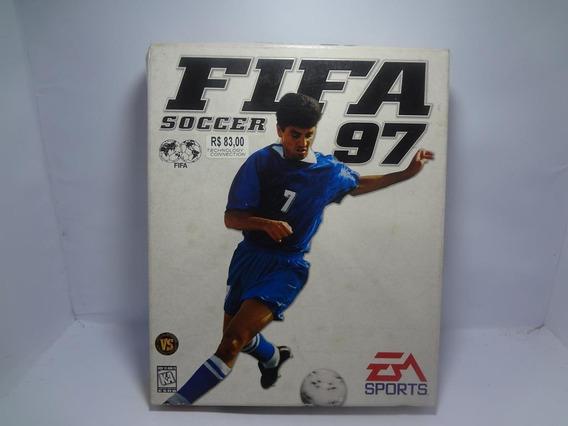 Jogo Game Pc Fifa 97 Original Raro