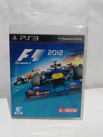 Jogo Fórmula 1 2012 Ps3 Mídia Fisica Completo R$35