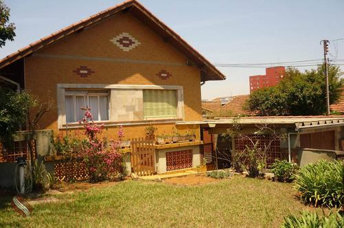 Casa Residencial Para Venda Ou Locação , Vila Santana, São Paulo - Ca0034 (j) - Ca0034