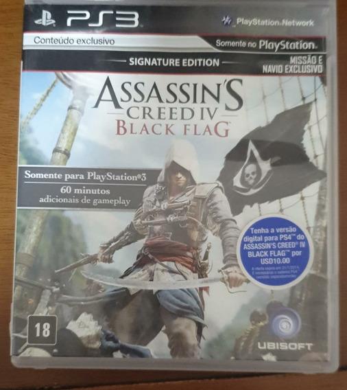 Jogo De Ps3 -assassin´s Creed 4 Black Flag