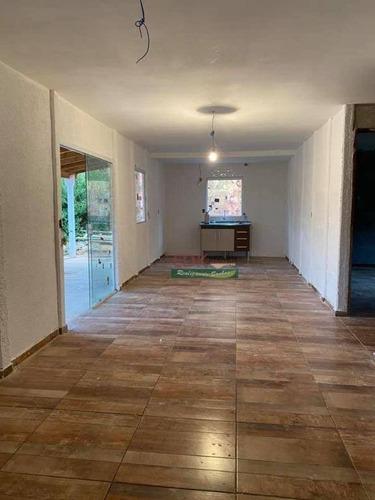 Imagem 1 de 7 de Chácara Com 2 Dormitórios À Venda, 1000 M² Por R$ 165.000,00 - Zona Rural - Natividade Da Serra/sp - Ch0708