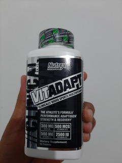 Multivitaminico Vitadapt Nutrex Original Importado Usa