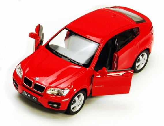Auto Bmw X6 Metal 1/38 Rojo Coleccion Retro Rdf1