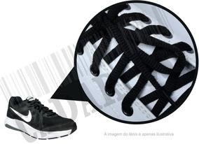 Cadarço De Tênis Preto Oval Poliéster 90/120/180cm (par)