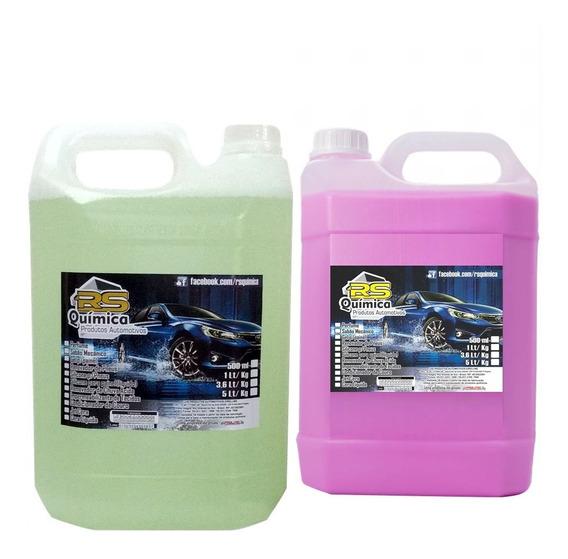 Removedor De Chuva Ácida 5l + Cera Líquida 5l