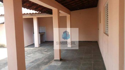 Imagem 1 de 18 de Casa Bosque Das Palmeiras, Campinas. - Ca0536