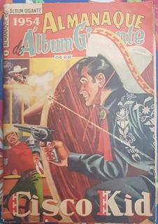 Almanaque De Álbum Gigante, Ano 1954