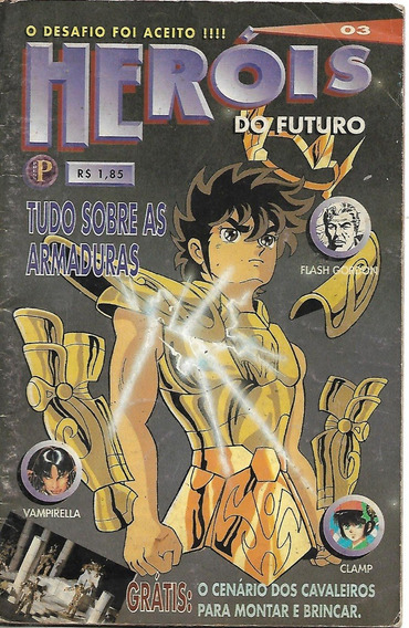Heróis Do Futuro N. 3 - Editora Press