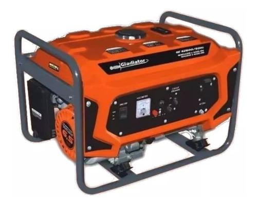 Generador A Nafta 2,2kw 4 Tiempos 6,5hp Gladiator Ge62500/50