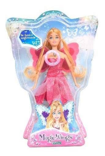 Princesas Alas Mágicas C/luz Rosa Ditoys