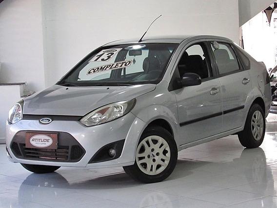 Fiesta Sedan 2013 Prata 1.6 Flex Completo