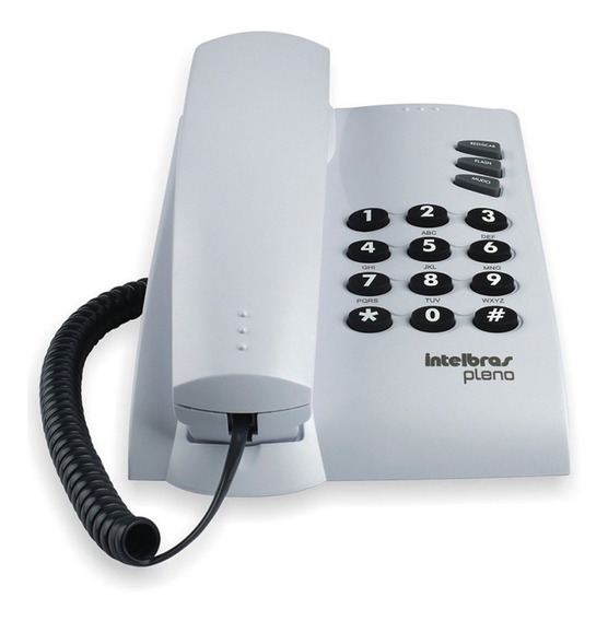 Telefone Intelbras Pleno 4080055