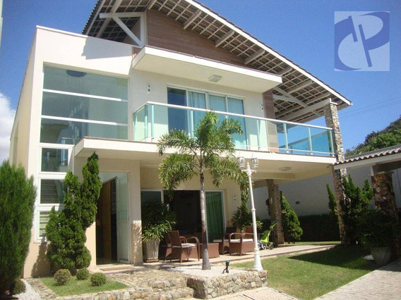 Casa Residencial À Venda, Alagadiço Novo, Fortaleza. - Ca2608