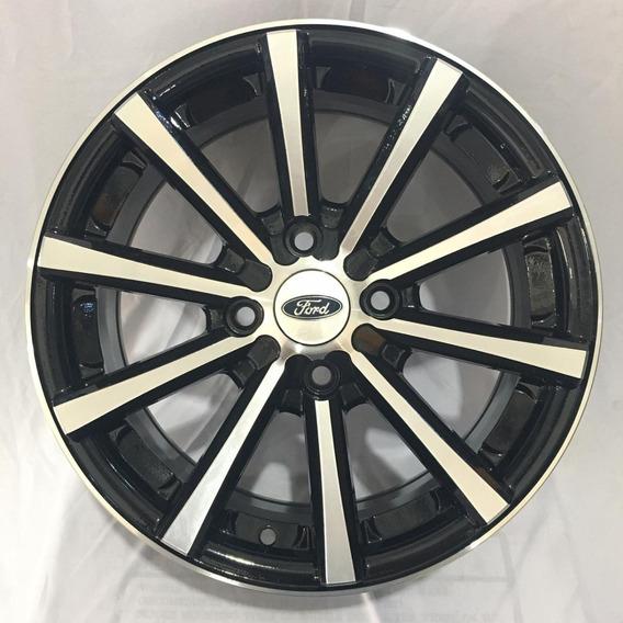 Jogo Roda Aro 15 Eclipse Ford New Fiesta 4x108 Focus Ka Nova