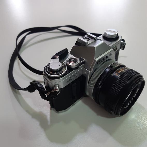 Camera Canon Ae-1 Completa