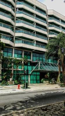 Flat Com 1 Dormitório Para Alugar, 64 M² Por R$ 3.000/mês - Lagoa - Rio De Janeiro/rj - Fl0076