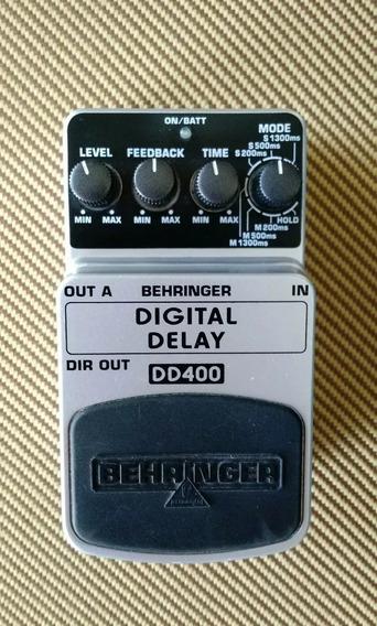 Pedal De Efeito Digital Delay Dd-400 Behringer