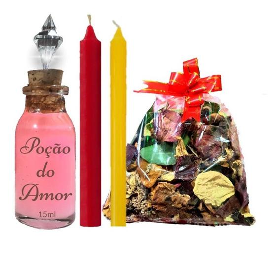 Adoce Seu Amor / Kit Com Banho / Velas / Perfume Atrativo