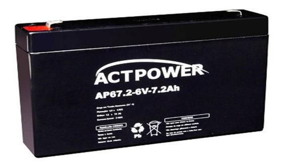 Bateria Selada 6v 7ah Recarregável - Moto Elétrica, Carrinho