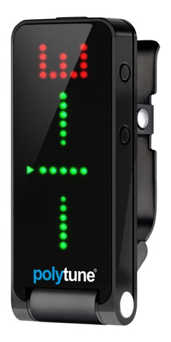 Imagen 1 de 10 de Afinador Tc Electronic Polytune Clip Polifononico - Cuotas