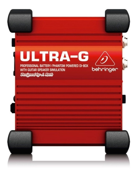 Direct Box Ativo Behringer Gi100 Ultra-g