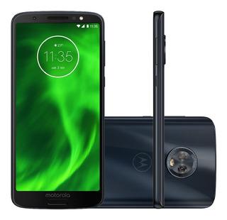 Motorola Moto G6 Xt1925 32gb 3gb Ram 12mp Azul Vitrine 2