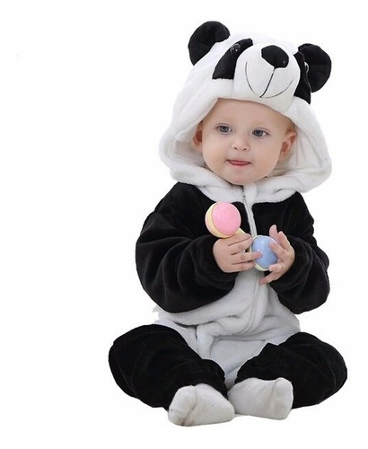 Pijama Fantasia De Bichinho Infantil Urso Panda Tigre Stich Mercado Livre