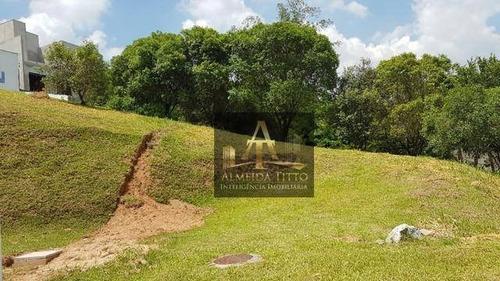 Excelente Terreno À Venda Em Santana De Parnaíba  Condomínio New Ville  862,93 M²- Confira! - Te0405