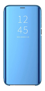 Funda Samsung S10e S9 S8 Plus Flip Cover Clear View Standing