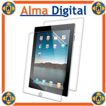 Kit 2 Protector Pantalla Y Anverso iPad 1 2 3 4 Transparente