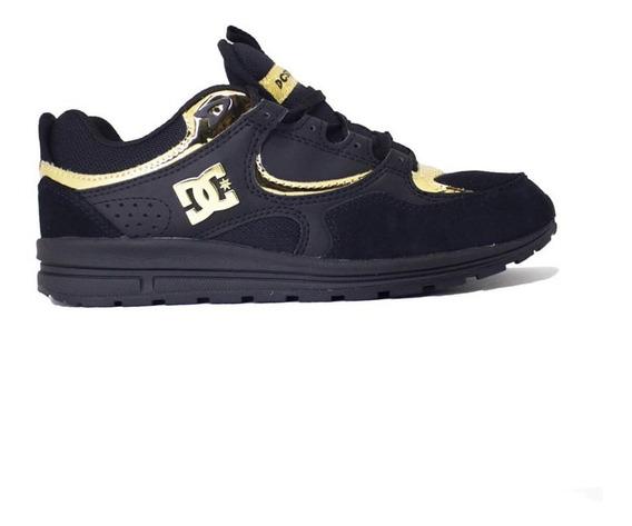Tênis Dc Shoes Kalis Lite Imp Black Gold Adjs100081201