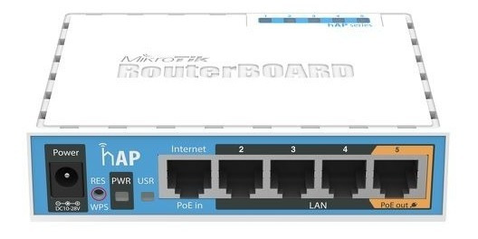 Mikrotik Routerboard Hap Rb951ui-2nd 5 Portas Com Wi-fi