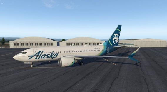 X-plane11 737-7max Zibomod
