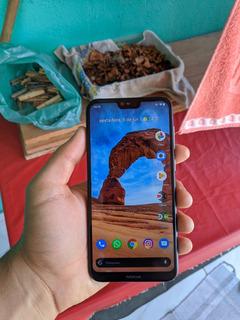 Celular Smartphone Nokia 6.1 X6 Semi Novo Xiaomi Asus Samsun