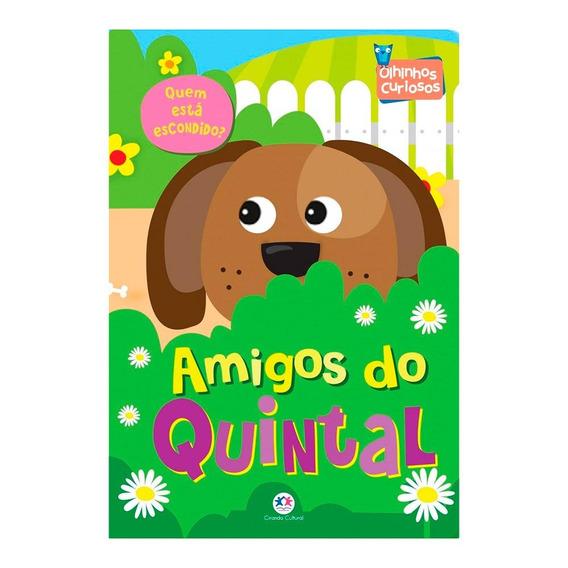 Livro Amigos Do Quintal Quem Esta Escondido?-ciranda C