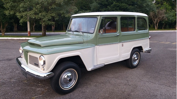Ford Rural 6cc 70 Willys C/ar - Ñ Gm Fiat Vw D20 A10 Pickup