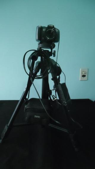 Baixei - Câmera Canon-tripe Velbon-fonte Câmera (filmagem)