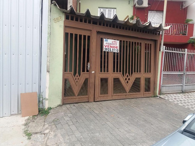 Sobrado Residencial À Venda, Vila Anastácio, São Paulo. - So0491