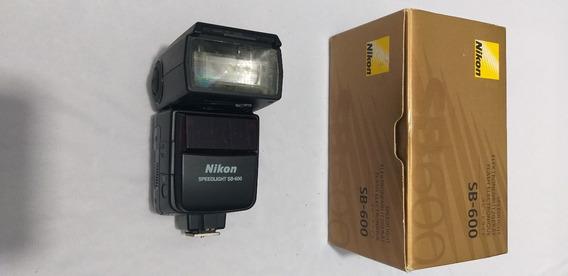 Flash Nikon Sb600 Pouco Usado.