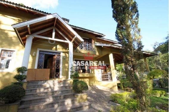 Ampla Casa Aprox. 400m² Terreno 1.600m² - Região Tranquila E Fácil Acesso. Veja Fotos! - Ca0074