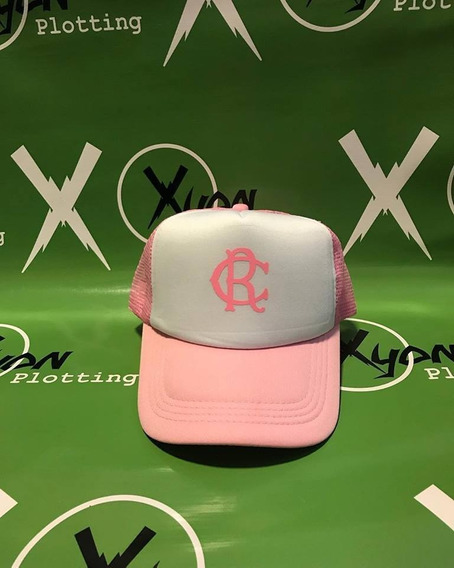 Gorra Trucker Racing Club Rc Rosa