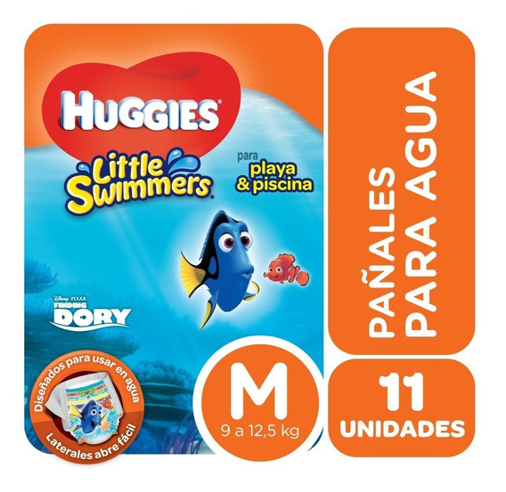 Pañales Para El Agua Huggies Little Swimmers Talle M X 11 Un