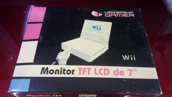 Monitor Tft Lcd De 7 Para Nintendo Wii Item Raro E Novo!