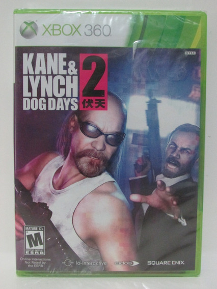 Kane & Lynch 2 Dog Days - Game Xbox 360 Original Lacrado