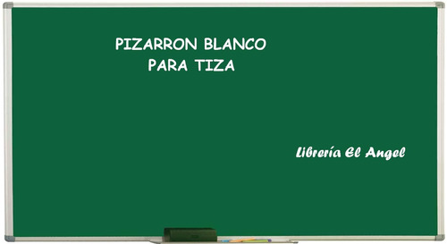 Pizarra Verde Para Tiza 80x60cm  Pizarron