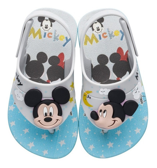 Chinelo Infantil Masculino Disney Cut Fun Baby Mickey 22137