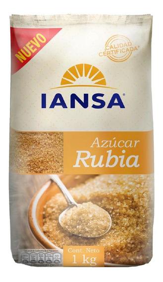 Azúcar Rubia Iansa 1kg Pack 12 Unidades