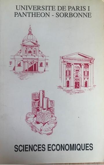 Universite De Paris I Pantheon Sorbonne Sciences Economiques