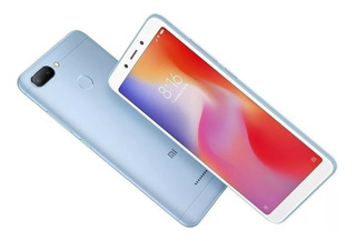 Cel. Xiaomi Redmi 6 Azul Dual 3gb+64gb/5.45