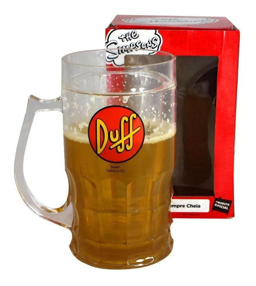 Copo Caneca Térmica Chopp Duff Beer - The Os Simpsons Fox